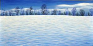 Fresh Winter Blue I