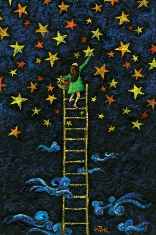 girl with stars(webpage)