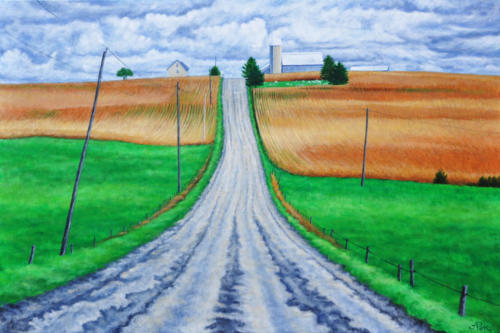 Hill in Transition (Sold)