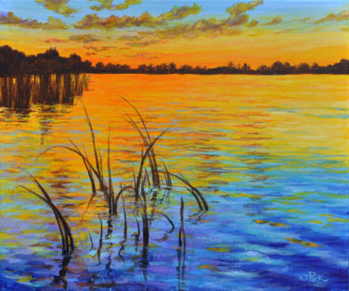 Golden Sunset (Sold)