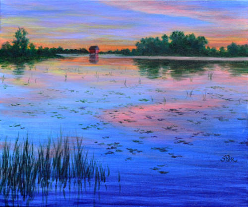 Summer Sunset II (Sold)