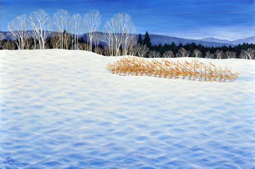 Fresh Winter Blue III (Sold)